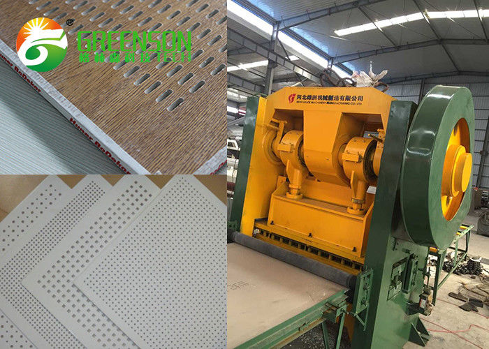 Gypsum Board Perforated Sheet Making Machine For Ceiling And Wall Decoration
