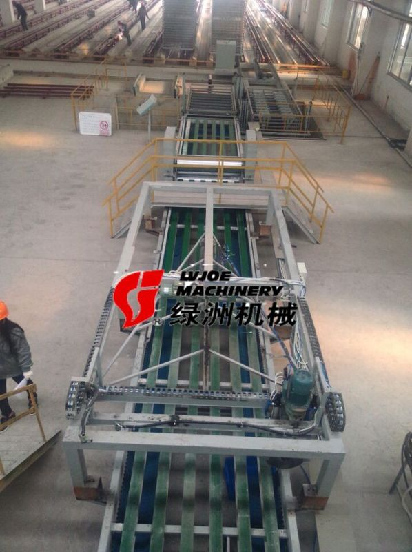 Professional Magnesium Oxide Board Production Line Automatic Flying Saw